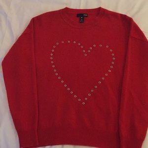 Aqua Cashmere Sweater